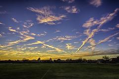 Phoenix sunset - 2-19-2017 (TAC.Photography) Tags: sunset lightstreaks bluehour arizona clouds sky color phoenix hdr