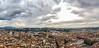 View of Florence from Giotto's Campanile (Jean-Paul Navarro) Tags: florence firenze italy italia europe tuscany clouds city views panoramic giottos campanile