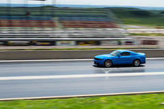 blue beauty (sean.m.c photography) Tags: blue black sexy green ford race drag nikon colorado mine stock fast racing want american strip modified mustang noise morrison panning loud coupe v8 bandimere speeway d3200