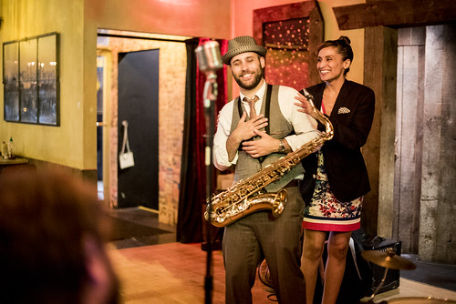 Jazz night at Amancay's Diner Brooklyn