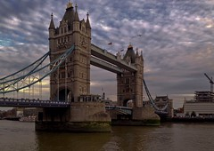 Tower Bridge, London (bighands@yahoo.com) Tags: uk bridge england london towerbridge river scenic riverthames iphone iphonography