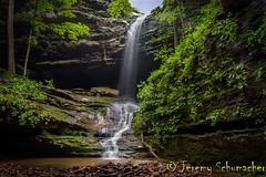 Waterfall at Fern Clyffe (Jeremy Schumacher) Tags: park fern landscape waterfall nikon state 1855mm d5000 clyffe