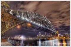 Sydney Harbour Bridge (Victor Ye) Tags: bridge night canon outdoors long exposure harbour sydney hdr 6d top20bridges