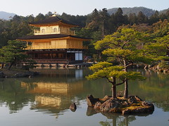 Kyoto 2015 (hunbille) Tags: reflection japan garden temple gold golden kyoto kinkakuji pavillion a3b fotocompetitionbronze