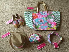 Some of the accessories & espadrilles in the Lilly Pulitzer for Target I got for my coming birthday.The Nosey Posey print with gold details is really popular and the blend of colors is definitely lovely! But ofcourse won't wear them all at the same time! (Travel Galleries) Tags: pink ladies girls favorite flower detail floral hat fashion comfortable bag print gold outfit clothing shoes soft flat makeup july style womens clothes footwear lilly pouch accessories fedora matching np turban brand tote nosey posie headband comfy pulitzer 2015 posey twinning espadrilles nosie ootd lillyfortarget jlsstyle happybirthdayjls