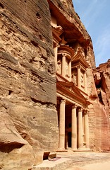 Al Khazneh (The Treasury), Petra, Jordan (Lemmo2009) Tags: petra jordan maan thetreasury wadimusa alkhazneh