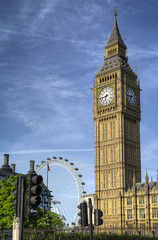Big Ben from Westminster Abbey-20 (FitzinCC) Tags: londonhdr