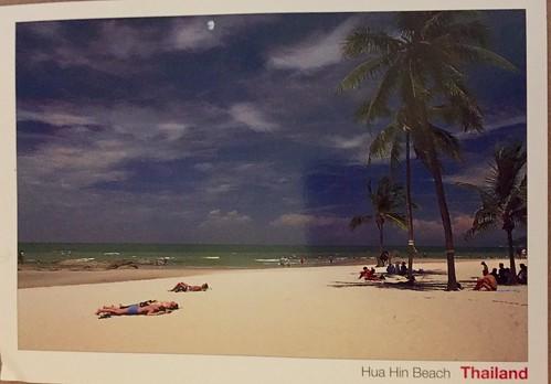 Hua Hin beach, Thailand (received from Thailand)
