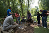 Staff from Touchwood Solihull attend a Bushcraft Survival Day at Brandon Marsh (Warwickshire Wildlife Trust) Tags: nature wildlife conservation location activity coventry warwickshire solihull brandonmarsh bushcraftsurvivalday
