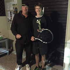 Wed night Fast 4 Winner June 2015 Flynn Lethlean with Andrew Veale IMG_0938