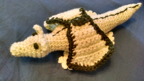 Ravelry Baby Dragon Portuguese Long Snout Pattern By Angela Maria