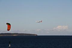 2015 Sydney: Botany Bay #19 (dominotic) Tags: beach water plane airplane boat yacht jet sydney australia nsw newsouthwales watersports tasmansea qantas botanybay tanker sydneyairport brightonlesands portbotany 2015 penalcolony airportrunway sydneykingsfordsmithairport australianpenalsettlement