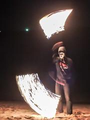 fireshow National parc Ko Lanta, Thailand - Feuershow