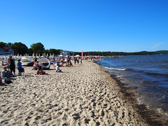 The beach in Sopot!