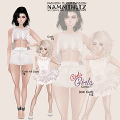 GirlsGirls.002 (namminliz) Tags: new girls summer woman game hot cute sexy art girl beautiful fashion kids illustration painting mom design 3d artwork model women doll paint pretty graphic bright drawing arts mother secondlife draw package vector combo nml dauther momdaughter imvu kidsfashion namil namminliz minilous lizapy