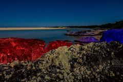 Layer (Daniel J Murphy) Tags: longexposure lightpainting beach water night pentax australia coffsharbour k3 sawtell ledlenser