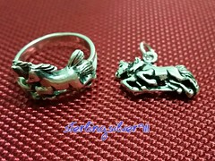 Model No_ R58 _ P35 (sterlingsilver911) Tags: horses silver handmade jewelry rings sterling 925