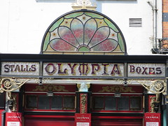 Olympia theatre (1878) - Dame Street, Dublin (Yvette Gauthier) Tags: ireland dublin architecture artnouveau vitrail thtre irlande devanture verrire