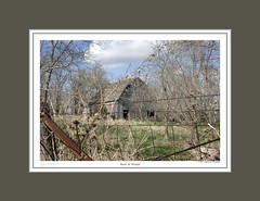 #169 BARN IN WOODS (mdturn1) Tags: barns iowabarns oldbarns farming farm images photos history outbuildings farmshed cowshed shelter stable stall outhouse polebarn vintage classic heritage countryside historicbuildings oldfashioned nostalgic sentimentalfarm nostalgicmemories tradition rurallife rustic pastoral agricultural barnyard barnboard decor decorate decorating office home photoimages canvaspints galleryprints gallery