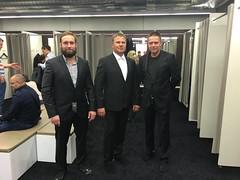 In Metzingen buying Hugo Boss suits!