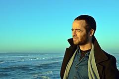 DSC_4082 (mrsdyvz) Tags: sun portugal aveiro nikon d3200 sundown portrait model beach sand sea ocean water waves glasses rock silhouttes horizon harmony sky blue clouds costa nova praia