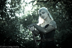 Enchantress (silver lining studios) Tags: elven elf fairy witch queen forest woods sword sorcery fantasy magic dungeons dragons dragon autumn vampire