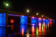20161204_636c (novofotoo) Tags: brücke fluss inn künstlichebeleuchtung landschaft mehrfarbig motiv natur reflexion wasser artificiallighting bridge mirror multicolored water