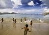 Run, run into the sea (syukaery) Tags: flores indonesia ntt travel beach kids running swimming sea seascape landscape nikon d750 nikkor 1635mm