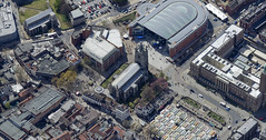 Norwich market, St Peter Mancroft & the Forum aerial (John D F) Tags: norwich norfolk aerial stpetermancroft aerialphotography aerialimage aerialphotograph aerialimagesuk aerialview droneview viewfromplane britainfromabove britainfromtheair hirez hires highresolution