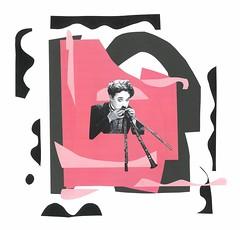 'Party Horn Virtuoso'_Henrique Rocha, 2016 (henrique.rocha.) Tags: fun chaplin joke comedy party horn woodwinds clarinet flute music collage bricolage colagem musique muziek muzik spas pret 乐趣 divertimento joy alegria celebration amusement gioco rigolade chirigota diversión весело