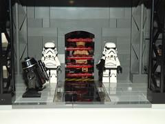 DSCF2247 (Nilbog Bricks) Tags: star wars lego moc minifigures stormtrooper base barracks