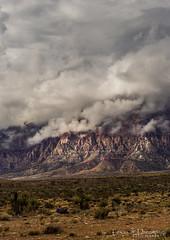 Desert Mist HDR- (Texas Dreaming) Tags: mojavedesert redrockcanyon cloudy hikingadventures hdrphotography springmountains nevada