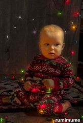 Twins Christmas Photo Shoot #11 (rumimume) Tags: potd rumimume 2016 niagara ontario canada photo canon 80d sigma twins baby christmas photoshoot festive holiday onesey