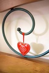 Two Hearts (Lylise) Tags: heart hesarts bed love coeur coeurs amour amor coração corações red