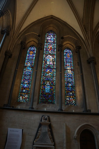Stainglass Window, Temple Church, Knights Templars, City of London, London