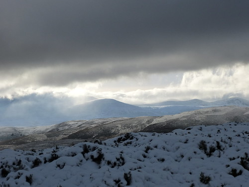 P23 Shafts of light over Lochnagar