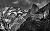 Cloud's Rest (Doug Santo) Tags: cloudsrest halfdome yosemitenationalpark landscapephotography blackandwhite