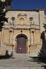 Pedraza de Campos (Palencia). Iglesia. Portada (santi abella) Tags: pedrazadecampos palencia castillayleón españa