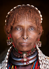 ethiopia - omo valley (mauriziopeddis) Tags: africa etiopia ethiopia reportage omo valley turmi jinka omorate konso mursi karo benna dassanech hamer tribe tribù tribal people portrait ritratto portraits ritratti river