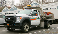 Town Of Greenburgh NY Highway Department Truck F18 (Seth Granville) Tags: greenburgh highway ford plow spreader salt sander henderson boss