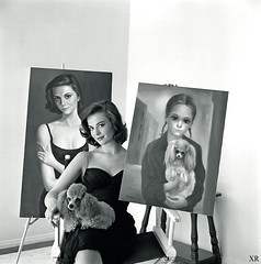 1964 ... Natalie Wood with Kean paintings (x-ray delta one) Tags: nataliewood margaretkeane jamesvaughanphoto populuxe retro advertising americana nostalgia suburbia suburban magazine popularscience popularmechanics atomic housewife magazineillustration coldwar vintage ad ads 1950s 1960s consumer babyboomer television tv militaryindustrialcomplex smoking atomicpower carnabystreet