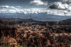 Clouds 'n' Hoodoos (Rik Tiggelhoven Travel Photography) Tags: clouds sky clouded cloudy bryce canyon national park amphitheater sunset point centennial np nps service hdr outdoor nature hoodoo artistic art scenery scene landscape landschaft landschap landskap paysage paisagem paisaia paisaje paisaxe canon eos 6d fullframe ef24105mmf4lisusm rik tiggelhoven travel photography utah usa america amerika