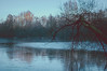 Frozen in Time (lutzheidbrink) Tags: nikon nature tree lake photography d5000 35mm frost winter frozen river waterscape landscape