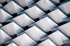 Symmetrical Repeats (benjaminjohnson1983) Tags: 2017 abstract dynamic edge flickr foldingtechniquesfordesigners fromsheettoform hemelhempstead justwhitepaper macro macromondays macroringlight neewermacroledringflashlight origami paper pauljackson pyramids repetition shadows triangles white wow