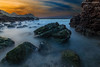 Sunset (Sreelesh Sreedhar) Tags: sunset seascape landscape clouds seaside beach sea longexposure muscat mountain mountainside nikon nikonflickraward ngc nature nikond800 nikon1635mm outdoor oman ocean planet rock sky shore slowshutter waves wideangle water wave