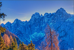 contrasti (Luciano Silei - sky7) Tags: alpi alps alpigiulie jôffuart cimadiriofreddo landscape autumn autunno lucianosilei canon7d canonefs18200mmf3556is