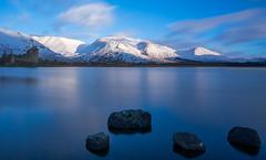 Loch Awe Sunrise Long Exposure (jason.tyldsley) Tags: kilchurncastle highlands scotland nikon d5200 tokina1116mm sunrise mountain snow winter loch castle longexposure lochawe