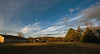Late afternoon clouds (DT's Photo Site - Anderson S.C.) Tags: sirrus clouds dusk sunset home back yard sky canon 6d 1740mml lens andersonsc