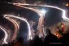 De Bas en Haut (FlΩmega) Tags: montagne lacets epingle altitude col route rallye rally wrc worldrallychampionship wrcworld nikon nikkor nikkor50mmf14d d700 pose longue lumiere phares feux