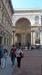 Milano. (MartinaMaccolini) Tags: milan kodak milano italy italia edificio architettura arco colonnato
